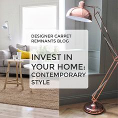 Our new blog covers contemporary style - inspiration for materials, colours and furniture! Read more here: http://designer-carpet-remnants.co.uk/blog/home-contemporary-style