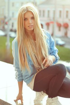 She is really gorgeous !!