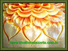 Lesson 1, Carving, การแกะสลักผลไม้, 水果雕刻, Ukiran buah, 果物のカービング, Khắc tr...
