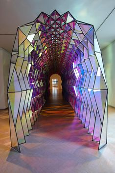 Take your time: Olafu... One-way colour tunnel, 2007