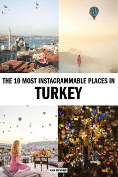 The top instagrammable places in Turkey you'll have to see to believe! We pick our favourites from this incredible country including tips on the best time to go, the locations and everything you need to know to get the perfect photo. #Turkey #Instagram #InstagrammableTurkey Cool Places To Visit, Places To Travel, Travel Pictures, Travel Photos, Travel Guides, Travel Tips, Turkey Travel, Spots, Europe Destinations
