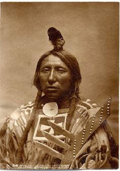 Spotted Eagle (WAMBLI GLESKA after his father) belonged to Tatanka Cesli (Bull Dung) band of Itazipcho (Sans Arc) subdivision, Sioux tribe. He was a fierce warrior, noted for his prowess and charm.  He was the principal chief of the Itazipcho, along chief Kill Eagle, at Little Big Horn, leading 180 warriors.