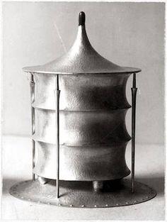 JOSEF HOFFMANN tin, silver, 1904