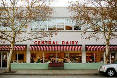 Central Dairy in Jefferson City offers a menu of delicious ice cream flavors. Don't miss trying a cone...or two!