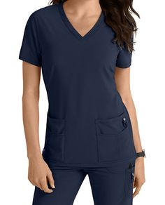 Lynx Untamed-- break free from ordinary scrubs! This new collection offers VersaTec stretch material that provides movement at the stress points (back yoke and armholes) to give you additional mobility. Scrubs Outfit, Scrubs Uniform, Nursing Clothes, Nursing Scrubs, College Nursing, Medical Scrubs, Nursing Schools, Cute Scrubs, Cute Nurse