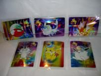 Pokemon Pocket Monsters Japanese Sticker Cards Lot