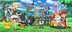 Pokémon XYZ Kalos Friendship Of The Line.