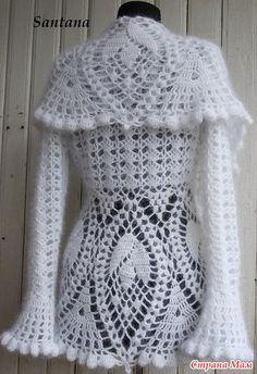 Cozy Lace Cardi | Rahymah Handworks