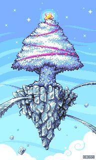 Winter Starlight Icon, Pixel Art, Buddy Icons, Forum Avatars