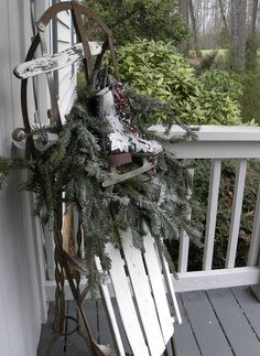 didn't paint mine yet but I found 2 at a thrift store really cheap and used them to decorate my front porch with a wreath attached