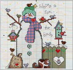 "Sweet patchwork ""gift Snowman"""