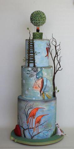 The Wizard of Oz cake by Bubolinkata