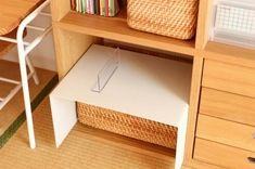 See related links to what you are looking for. Kids Room Organization, Organization Hacks, Daiso, Declutter, Organize, Living Room Designs, Beautiful Homes, Entryway Tables, Shelves
