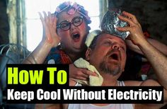 How To Keep Cool Without Electricity - SHTF, Emergency Preparedness, Survival Prepping, Homesteading