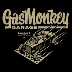 Gas Monkey Garage by Clark Orr