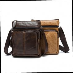 43.50$  Watch here - http://alisys.worldwells.pw/go.php?t=32727664984 - 2016 HOT SALE Men's genuine leather bags high quality shoulder bags LOVAKIA  43.50$