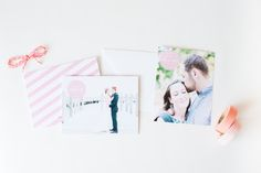 Momento Save the Date and Thank You card designs. Part of the Brklyn View Collection by Sincerely, Jackie and Brklyn View Photography
