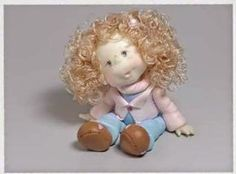 Cold Porcelain Tutorials: Create a Dolls Head with Cold Porcelain [step-by-s...