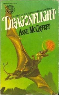 Dragonflight - Loved this dragon series by Anne McCaffrey. Great for High School age because of some sexual reference