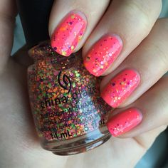 Let It Glitter - Soulmate & China Glaze Electric Nights - Point Me To The Party