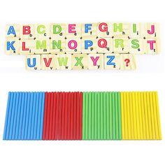 Kinder Holz Zahlen Stick Mathematik Early Learning Zählen Educational Math Spielzeug für Kinder Kinder Geschenk