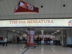 Entrance to the show