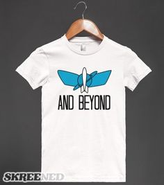 and beyond (shirt) - Annchor - Skreened T-shirts, Organic Shirts, Hoodies, Kids Tees, Baby One-Pieces and Tote Bags
