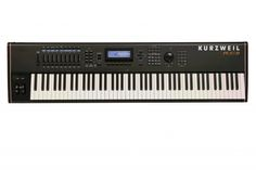 Kurzweil PC3K8 88 Key Production Station is a fully-weighted hammer-action, with velocity and aftertouch sensitive keys, featuring a quick release spring, striking an ideal balance of playability between piano type parts and synth/organ parts.