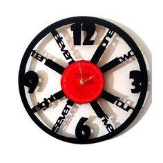 "Vinyl Record Clock - ""Math-ama-language"" | Art 'n Canvas"