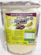 Suplemento Alimentar Farinha de Batata Doce 250g A farinha de batada-doce possui grande fonte de nutrientes e energia, vitaminas e minerais, suprimento de calorias, concentração de carboidratos, sais minerais, vitaminas A, C e complexo B e metionina.  https://comprarprodutosnaturais.wordpress.com/2015/10/06/suplemento-alimentar-farinha-de-batata-doce-250g/