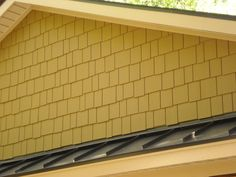 Certainteed Cement Fiber Siding system on gable end