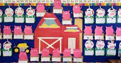 Farm unit in kindergarten