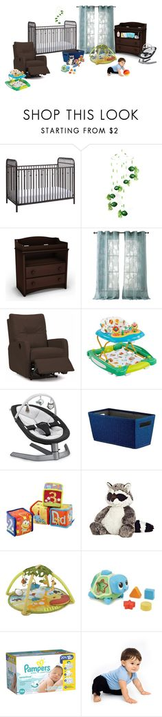 """""""Baby Room"""" by werewolf-gurl ❤ liked on Polyvore featuring Lucky Fish, South Shore, Kensie, Nuna, Threshold, Skip Hop, American Apparel and Gund"""