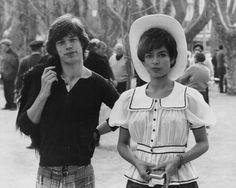 Mick Jagger et Bianca Perez Morena dans le sud de la France, le 7 mai 1971