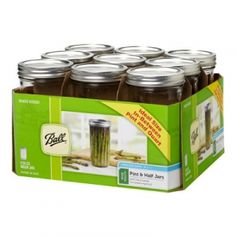 Ball Pint & Half Jars - Mills Fleet Farm 9.99