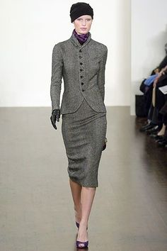 Ralph Lauren Fall 2005 Ready-to-Wear Fashion Show - Caroline Winberg