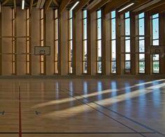 Gymnase du Lycée Grand Air à #LaBaule