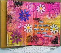Eclectic Paperie: Love is the Flower You've got to let Grow!