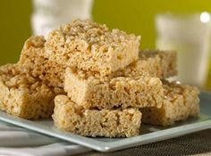 You won't mind if these peanut-buttery squares stick to the roof of your mouth.