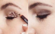 The easiest trick to getting the perfect smoky eye