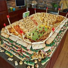 Now THAT is a Super Bowl Party