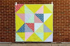 Scrappy Star Quilt by Jeni Baker
