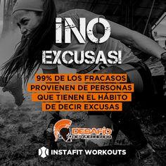 No EXCUSAS! 99% de los fracasos provienen de personas q tienen el hábito de decir excusas