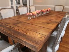 Barnwood Table - traditional - dining tables - st louis - Reclaim Renew