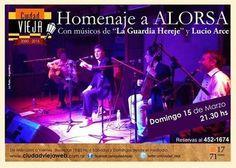 La Plata: Homenaje a Alorsa