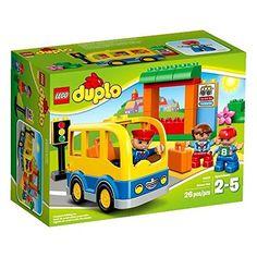 LEGO DUPLO Town School Bus Building Toys Lego Bricks Toddler Lego Sets Gift NEW #LEGO