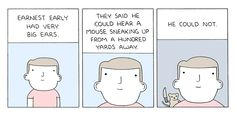 (via Poorly Drawn Lines – Ears) - so evil, so funny
