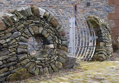 Pure genious...! wonderful energetic design. -rh6 Drystone Sculpture | Max Nowell Sculpture
