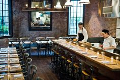 Restaurant Colonie in Brooklyn
