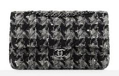 Sewing a Chanel Inspired Accessories Chanel Handbags, Designer Handbags, Chanel Couture, Chanel Fashion, Tweed, Michael Kors, Fall 2016, Sewing, Pattern